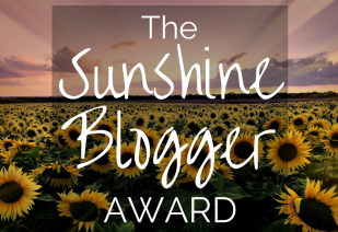 Image result for the sunshine blogger award